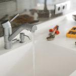 洗面台水漏れ
