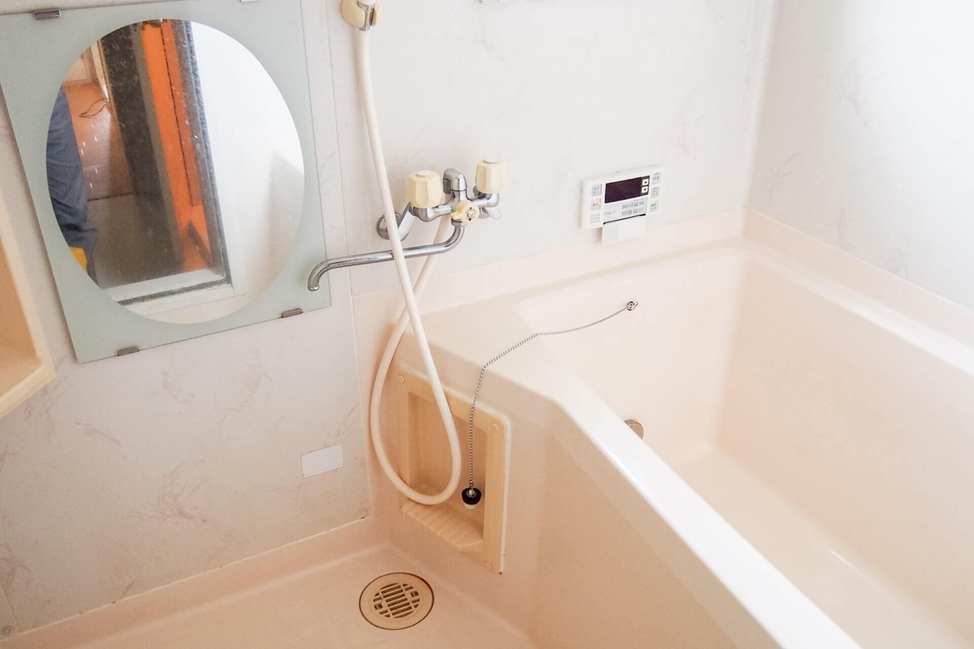 浴室の蛇口