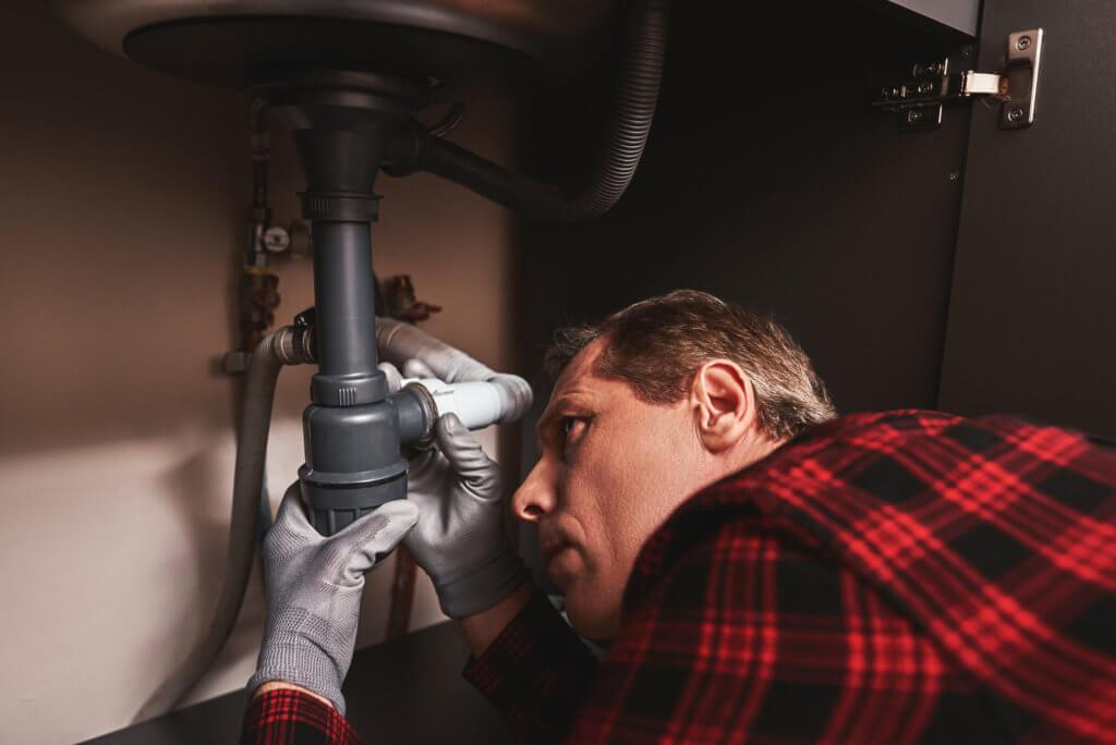 キッチンのつまりが発生しやすい場所2:排水トラップや排水口