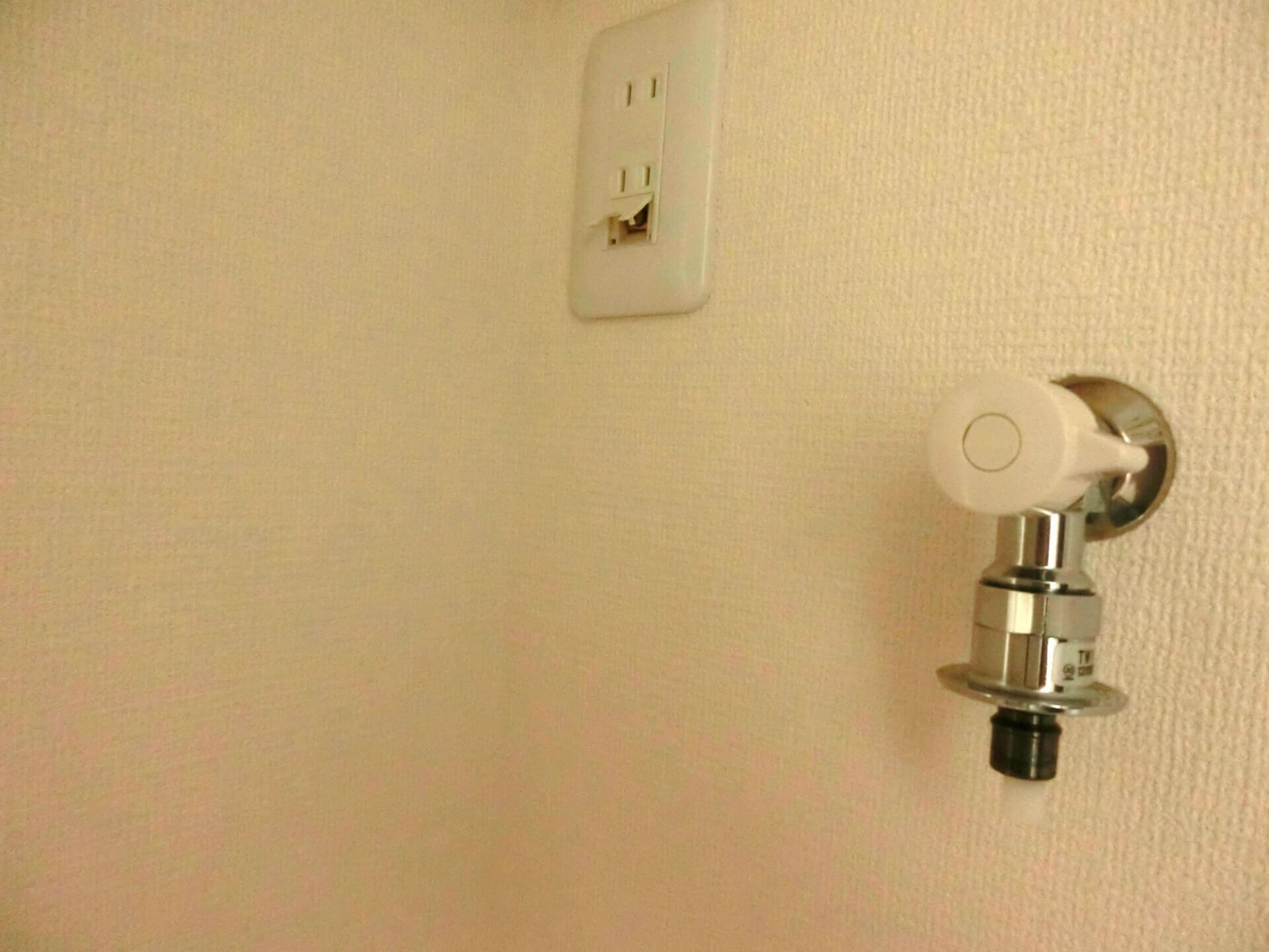 洗濯機の蛇口